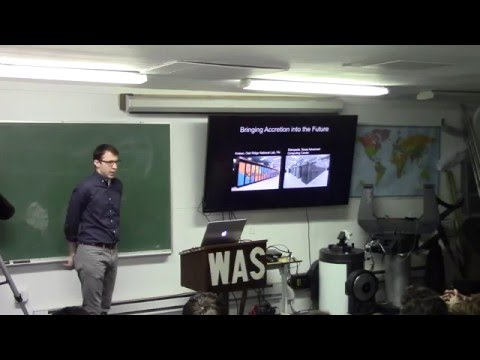 Eric Raymer, Columbia University - Supergiant Fast X-ray Transients - 2/16/16