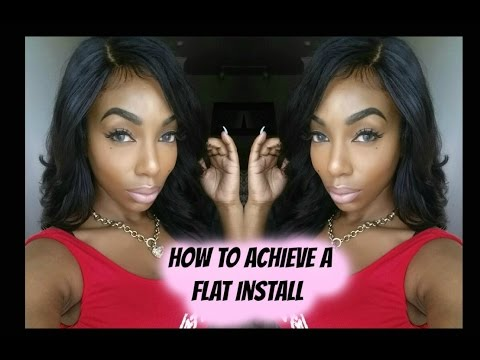 How to Achieve a Flat Install | Braid Pattern for Beginners| KennySweets