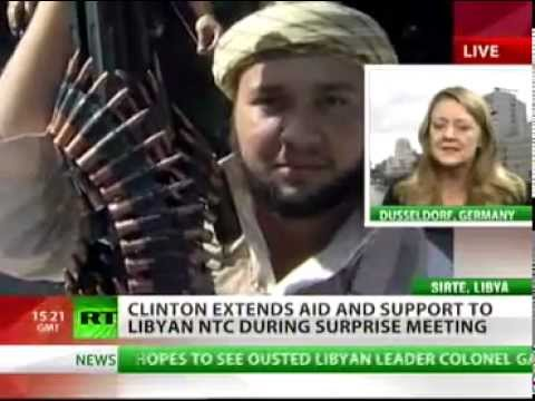 With Libyan Children's Blood On Her Lips  Wicked Hillary Clinton Calls For Murder Of Admired Gaddafi