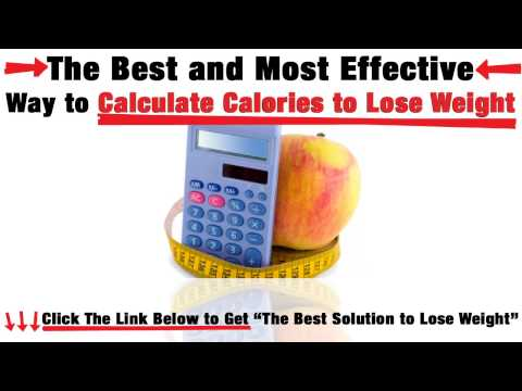 How to Lose Weight Calculator