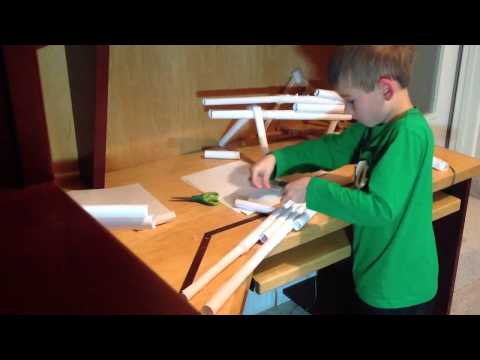 How to Make a Paper Sniper Gun