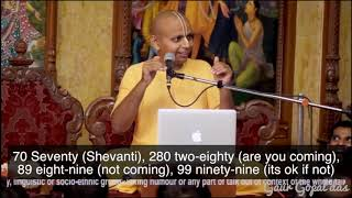 WHY SMILING CAN CHANGE YOUR LIFE speech by Gaur Gopal Das
