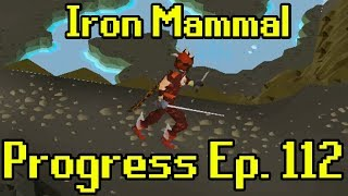 OSRS - 2007 Iron Man Progress Ep. 112 | Iron Mammal