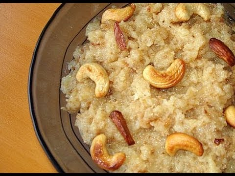 Cauliflower Halwa Recipe With English Subtitles