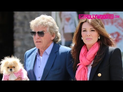 Lisa Vanderpump & Ken Todd Have Lunch At The Ivy 5.15.15 - TheHollywoodFix.com Exclusive