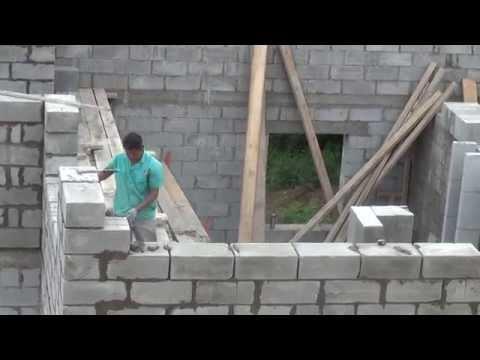 Построенные дома своими руками из пенобетона 973