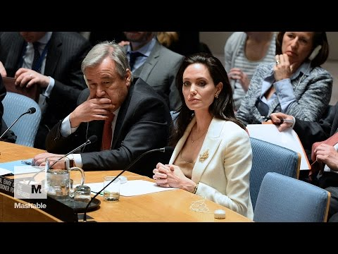 Angelina Jolie slams UN security council for Syria inaction | Mashable