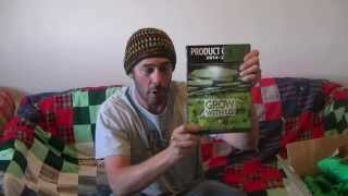 Green Ninja's first medical marijuana strain review--- Purple Pine Cone ...lol.