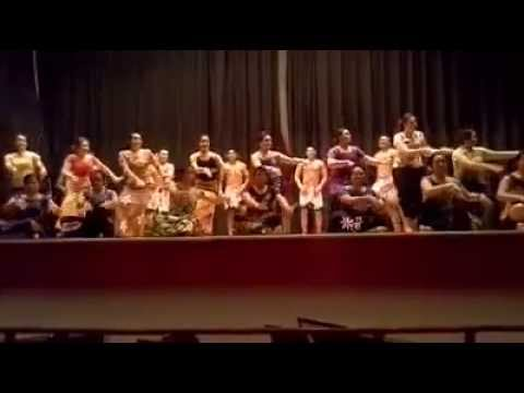 Samoan Talent Show - Girls Performance (Wentworth Military Academy) 2014