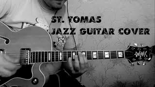 St. Tomas  sonny rollins jazz guitar cover