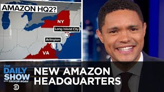 """Amazon's Second Headquarters, a Nazi Prom Photo & Tide's """"Wine Box"""" Controversy   The Daily Show"""