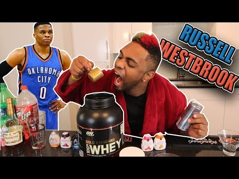 What Drink would Russell Westbrook be? Celebrity Drinks @russwest44
