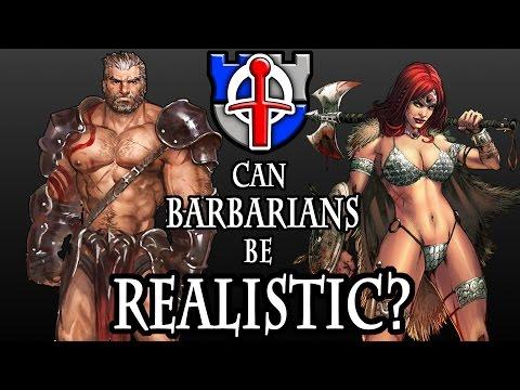 Can the Fantasy Barbarian  Bikini Armor be realistic? FANTASY RE-ARMED