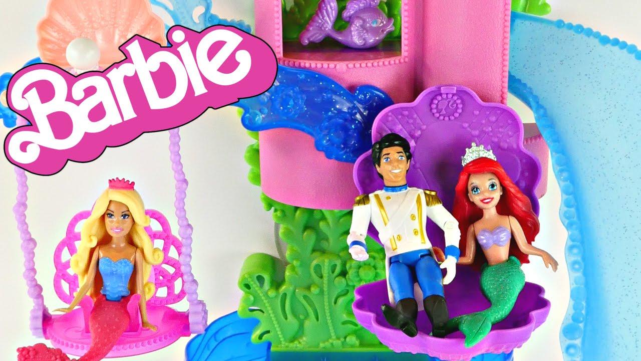 Barbie Splash And Slide Barbie Mermaid Splash 'n Slide