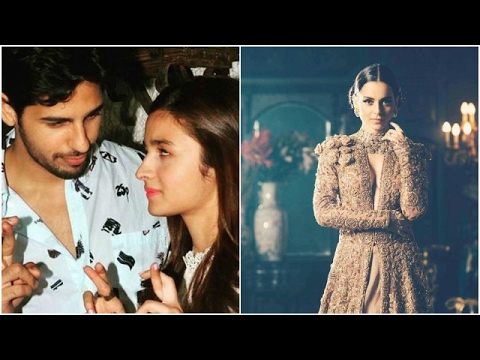 Sidharth Plays Innocent On Varun's Hint On Him & Alia | Kangana Targets An Ex