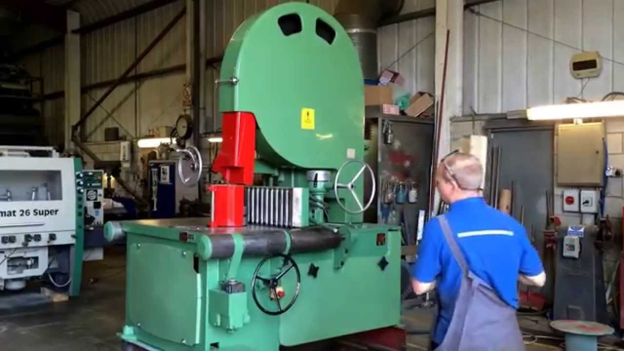 Stenner VHJ resaw - YouTube
