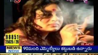 Actress Sana Hot Photo Shoot For Kannada 'Dirty Picture' (TV5)