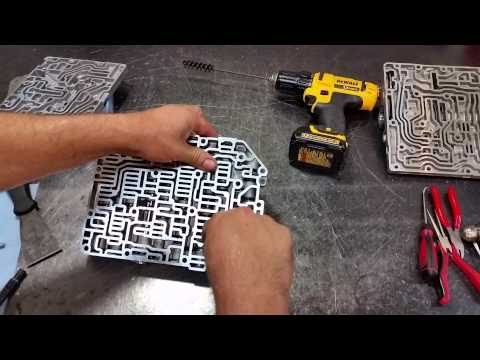 09g Valve Body Transgo Shift Kit Intall Transmission