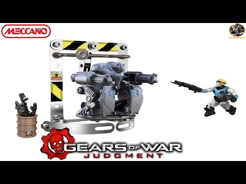 Meccano 4450 Gears of War Silverback Unboxing & Review!