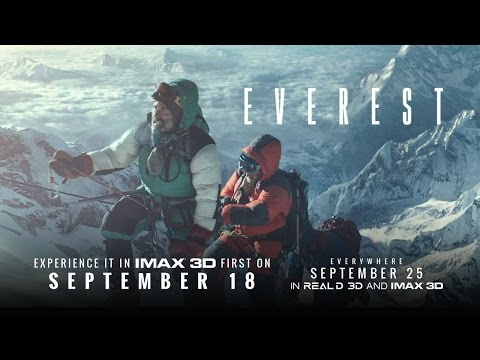 Everest - In Theaters September 18 (TV Spot 2) (HD)