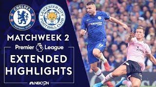 Chelsea v. Leicester City PREMIER LEAGUE HIGHLIGHTS 81819 NBC Sports