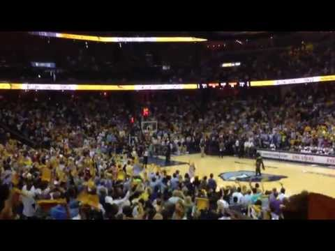Whoop That Trick featuring Al Kapone - FedEx Forum Grizzlies Playoffs 5/11/13