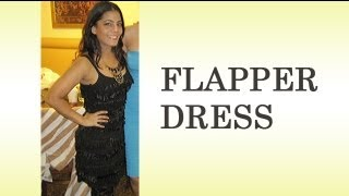 DIY How to Make your Own Flapper Dress Costume - Part 1