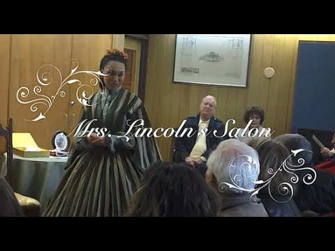 Debra Ann Miller as Mary Todd Lincoln in 'Mrs. Lincoln's Salon'