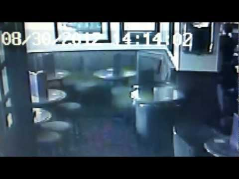 Ghost Caught on Camera CCTV at The Three Arrows Haunted Pub Heywood UK Paranormal Activity on Camera