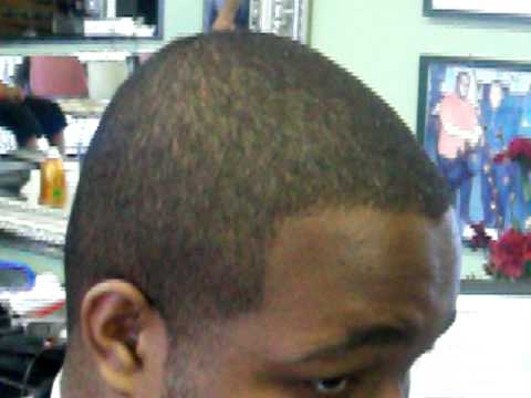 Dark Caesar Haircut Black Men Dark Caesar Haircut pt 1 of