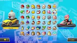Todos los atajos en Mario kart Copa flor 200cc