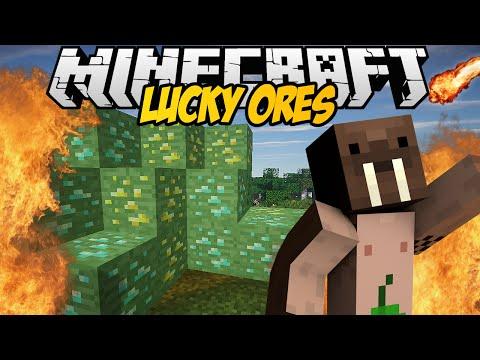 Minecraft Mody! Miej SzczĘŚcie Albo Zgin   Lucky Ores Mod video