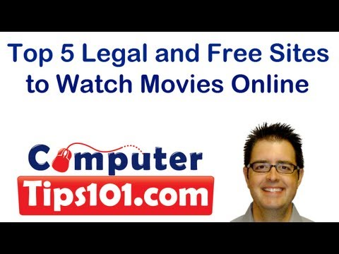 Top 5 Legal and Free Sites to Watch Movies Online