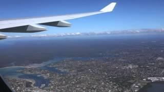 Virgin Australia A330-200 SYD to MEL. Part 2 Taxiing, take-off and inflight. HD