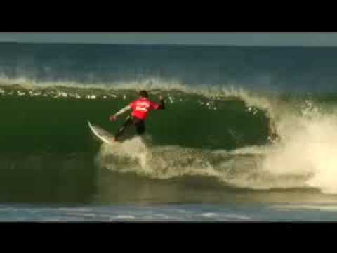 Bruce Irons and Dean Morrison Surf Jbay!