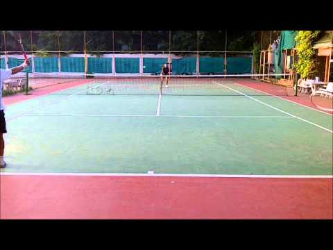 National Women's 35 Champion Training:  2 on 1 Volleys