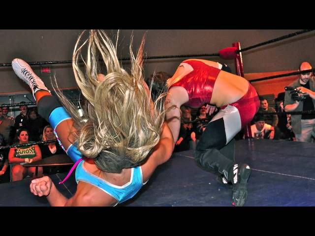 ECCW Halloween Hell Supergirls Tables Match Oct 29 2010