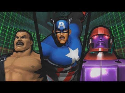 Ultimate Marvel vs. Capcom 3 - GS Gilly vs. Hitbox Buttons - Day 2 - Evo 2014