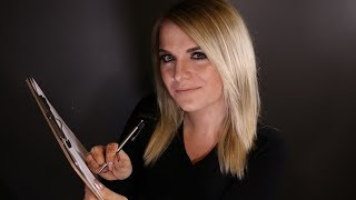[ASMR] Measuring and Drawing You {Roleplay} {Whispered}