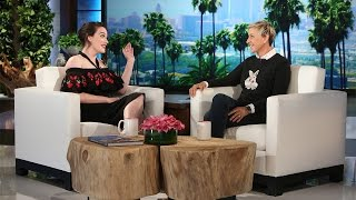 Kat Dennings on 'Knitting' with Ronda Rousey
