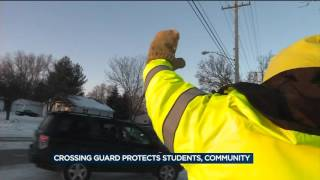Crossing guard protects students, community