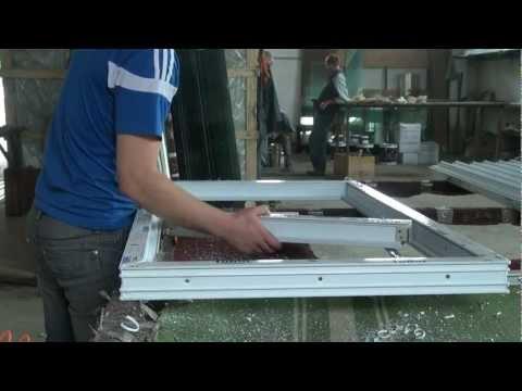 Собрать окно пластиковое