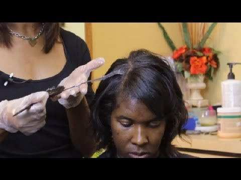 How to Color African-American Hair Blonde : Style Tips for African-American Hair
