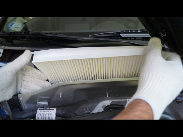 Opel Corsa - Cabin Filter Replacement - YouTube