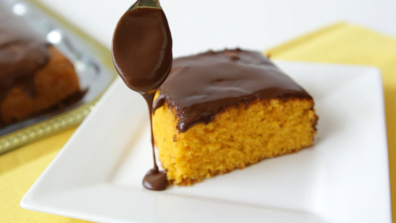 Courgette Chocolate And Orange Cake