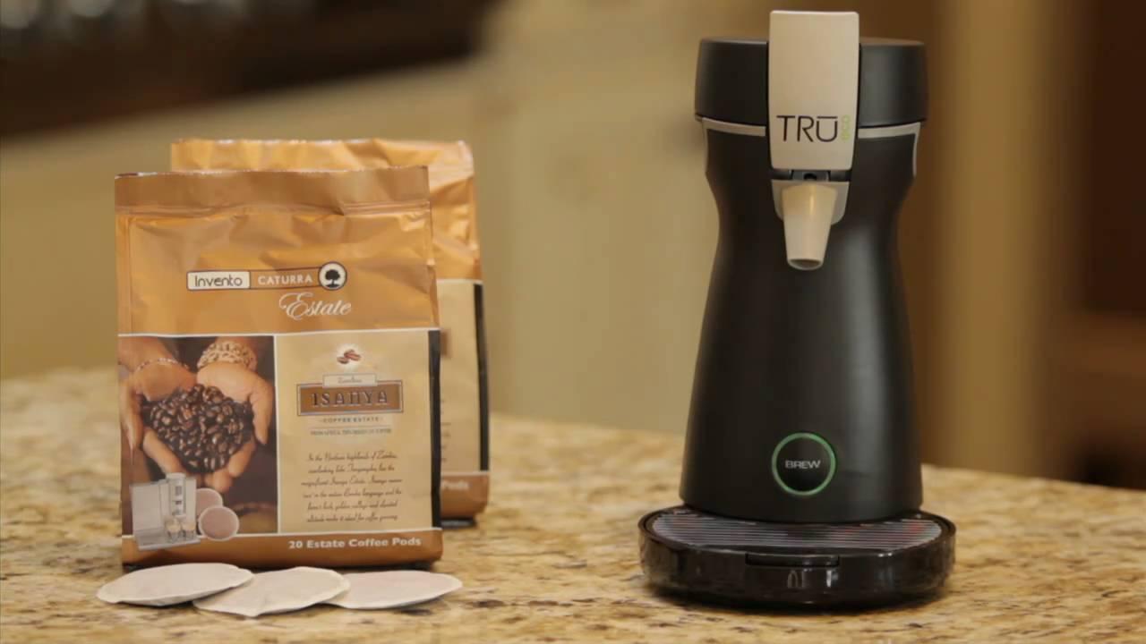 Tru Coffee Maker Not Working : TRU Eco Single Serve Coffee Brewer - YouTube
