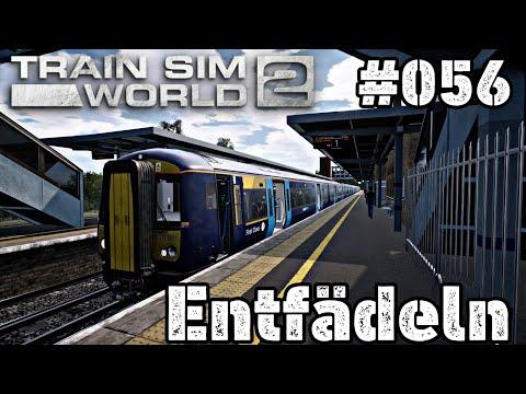 #056 Train Sim World 2 Xbox One X Let's Play - Entfädeln