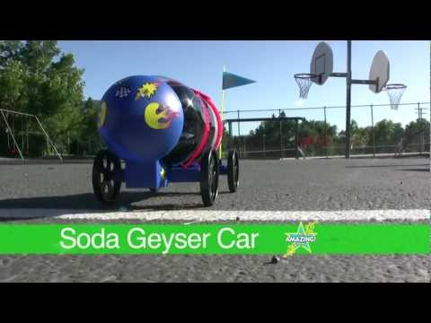 Be Amazing Toys-Soda Geyser Car