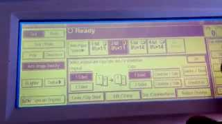 Touch Screen Calibration Savin 8045
