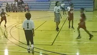 Little Kids Basketball Game
